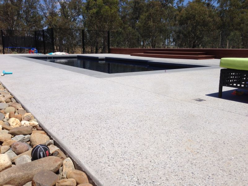 External Smooth Stone Polished Concrete