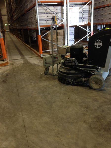 High Bay Storage Floor Levelling