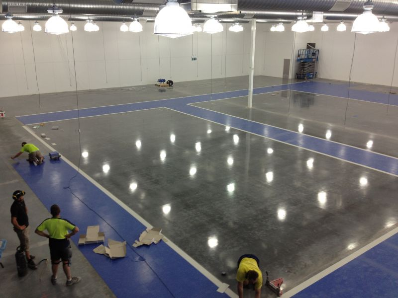 Retail Vinyl & Polished Concrete