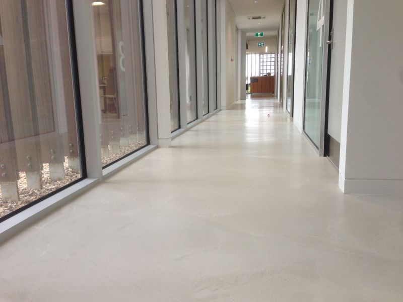 Smooth Stone Pandomo Polished Concrete Overlay