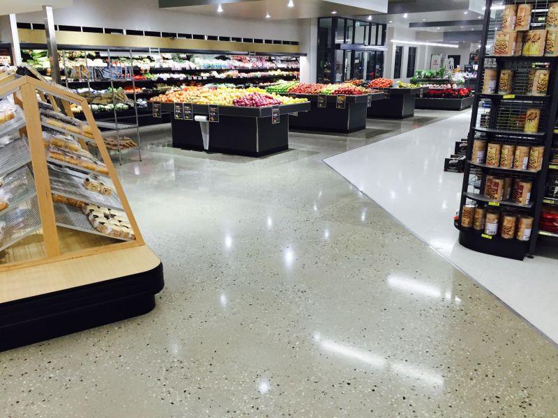 Polished Concrete Retail